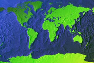Earthshots Technical Specification For World Map Relief Images
