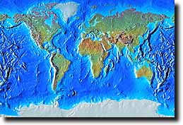 Relief Map Of The World.Earthshots World Relief Maps In 250 Styles And Effects