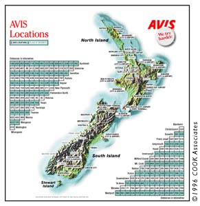 Avis Car Rental New Zealand Auckland