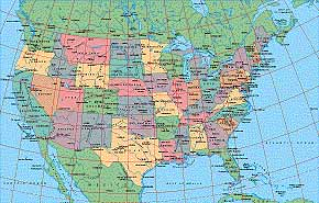 Map Catalog World Map Collection USA Maps - Detailed map of us