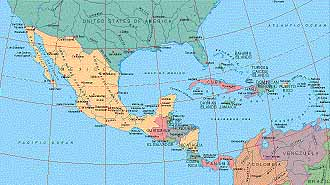 Map Catalog - World map collection - Central America Maps