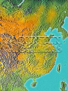Map catalog world map collection china korea maps a guide to mountain high maps on this page top left elevation low contrast relief rendering top right vegetation high contrast relief rendering middle gumiabroncs Choice Image