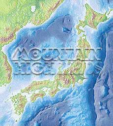 Map catalog world map collection japan manchuria maps a guide to mountain high maps on this page top left elevation low contrast relief rendering top right vegetation high contrast relief rendering middle gumiabroncs Image collections