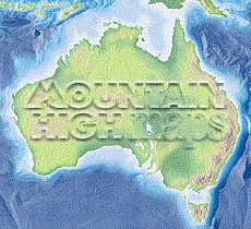 Map catalog world map collection australia maps a guide to mountain high maps on this page top left elevation low contrast relief rendering top right vegetation high contrast relief rendering gumiabroncs Gallery