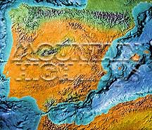 Map Catalog World Map Collection Iberia Spain Portugal Maps - Portugal vegetation map
