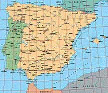Map Of Portugal And Spain Detailed.Map Catalog World Map Collection Iberia Spain Portugal Maps