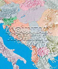 Map catalog world map collection yugoslavia hungary albania maps a guide to mountain high maps on this page top left elevation low contrast relief rendering top right vegetation high contrast relief rendering gumiabroncs Choice Image
