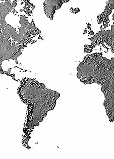 Map catalog world map collection atlantic ocean maps a guide to mountain high maps on this page top left elevation low contrast relief rendering top right vegetation high contrast relief rendering gumiabroncs Image collections