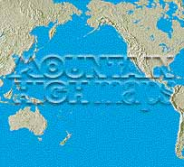 Map catalog world map collection pacific ocean maps a guide to mountain high maps on this page top left elevation low contrast relief rendering top right vegetation high contrast relief rendering middle gumiabroncs Images