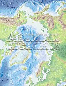 Map catalog world map collection arctic ocean centered at 0 maps a guide to mountain high maps on this page top left elevation low contrast relief rendering top right vegetation high contrast relief rendering gumiabroncs Gallery