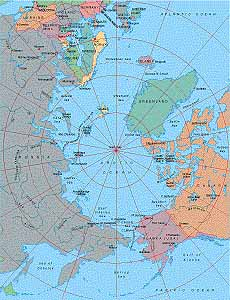 Map catalog world map collection arctic ocean centered on 90 vector eps map available for download gumiabroncs Gallery